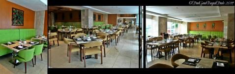 Baguio Lamisaan Dining & Bar at Holiday Inn 2019 dining area