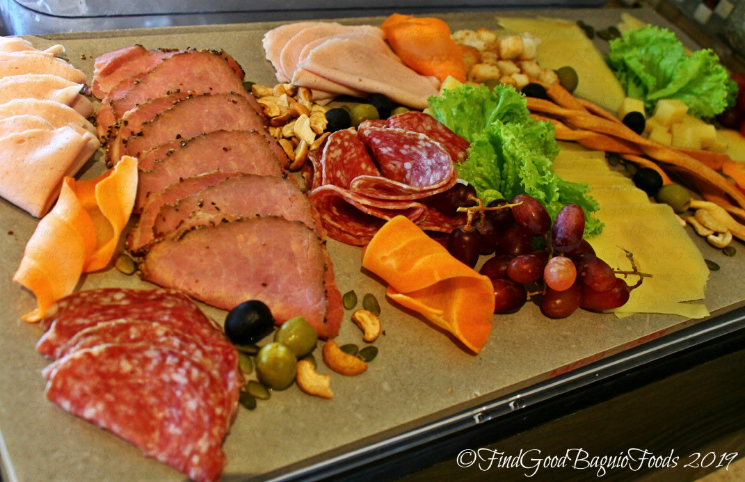 Baguio Lamisaan Dining & Bar at Holiday Inn 2019 cold cuts