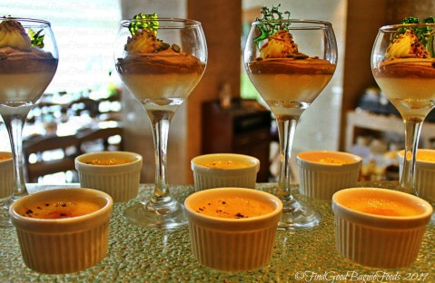 Baguio Lamisaan Dining & Bar at Holiday Inn 2019 chocolate mousse and creme brulee