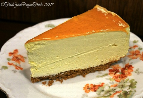 Baguio Poofee Blend Cafe 2019 mango mousse cake