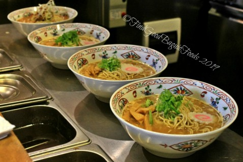 Baguio Agara Ramen 2019 Ramen bowls awaiting the final touches
