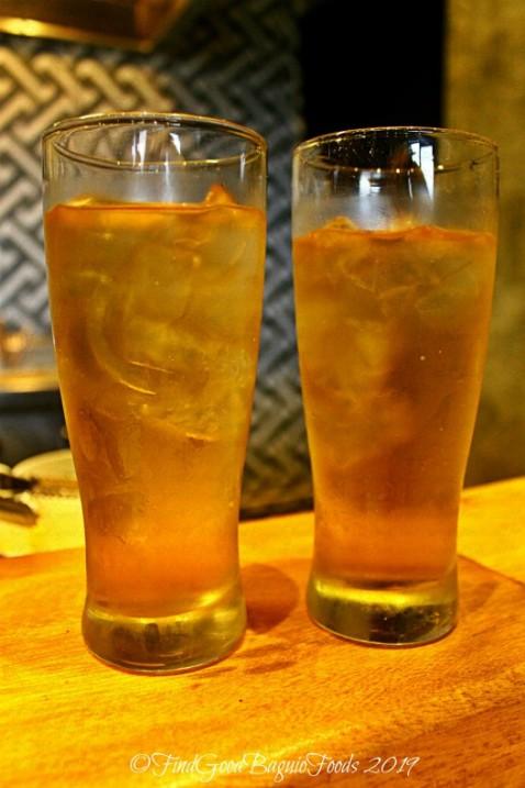 Baguio Agara Ramen 2019 muchiga cold Japanese barley tea
