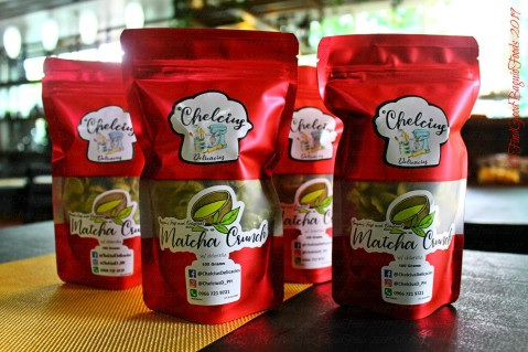 Baguio Chelcius Delicacies 2019 matcha crunch packs