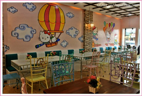 Baguio Bow and Whiskers Hello Kitty Cafe 2019