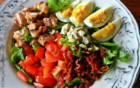 La Trinidad metro Baguio The Barn Restaurant cobb salad 2019