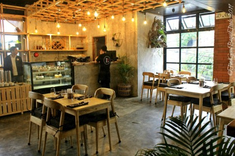 Baguio Bistro Lokal by Chef Miko Dy dining area 2019