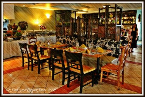 Baguio Mario's Restaurant dining area 2019