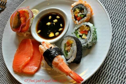 Baguio Mario's Restaurant 2019 sushi and sashimi