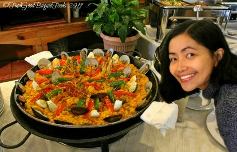Baguio Mario's Restaurant 2019 paella valenciana