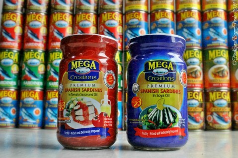 Mega Global Corporation 2019 Mega Creations bottled sardines