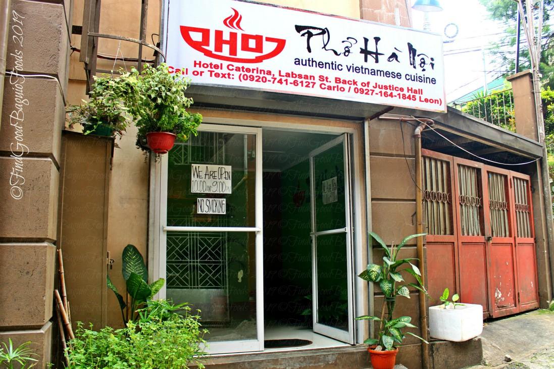 Baguio Pho Ha Noi Vietnamese Restaurant 2019 facade