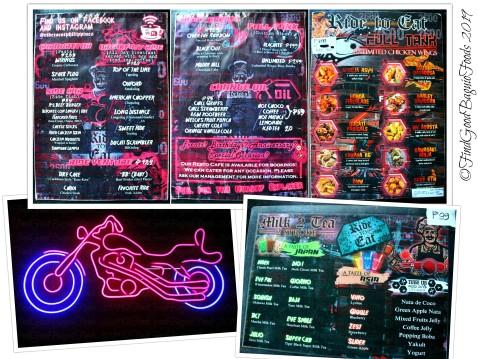 Baguio Ride to Eat 2019 menu