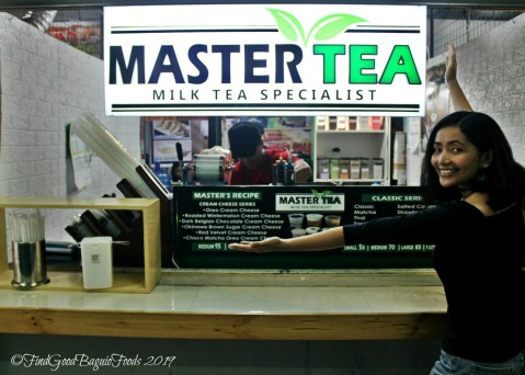 X at Baguio Master Tea Milk Tea Specialist 2019