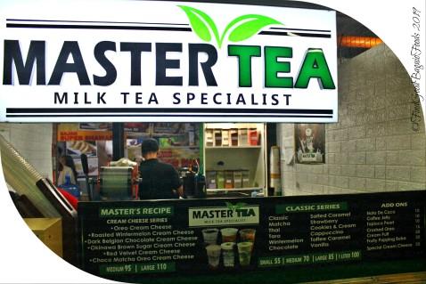 Baguio Master Tea Milk Tea Specialist 2019 menu