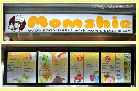 Baguio Momshie 2019 menu