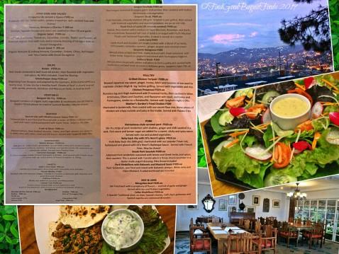 Baguio Mother's Garden and Restaurant 2019 menu