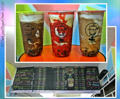 Baguio 1 2 Tea Authentic Taiwan MilkTea 2020 menu