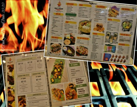 Baguio Grill Station by Kadis 2020 menu