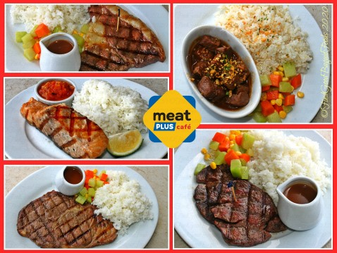 Baguio Meat Plus Cafe 2020 Steaks, salpicao, and pan fried salmon