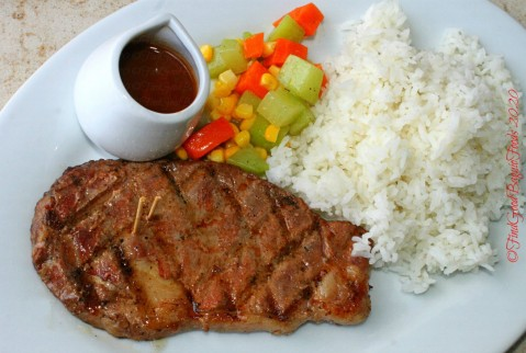 Baguio Meat Plus Cafe 2020 New York strip