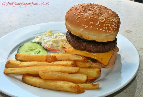 Baguio Meat Plus Cafe 2020 Meat Plus burger and fries