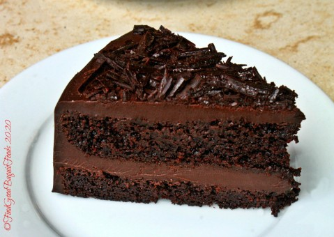 Baguio Meat Plus Cafe 2020 chocolate cake