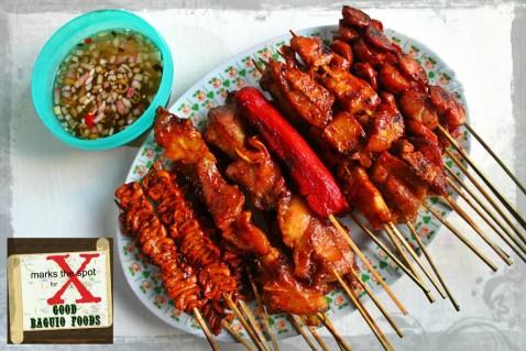 Baguio Boy Ihaw 2020 isaw, barbecue, hotdog, pingi/tenga, isaw baboy
