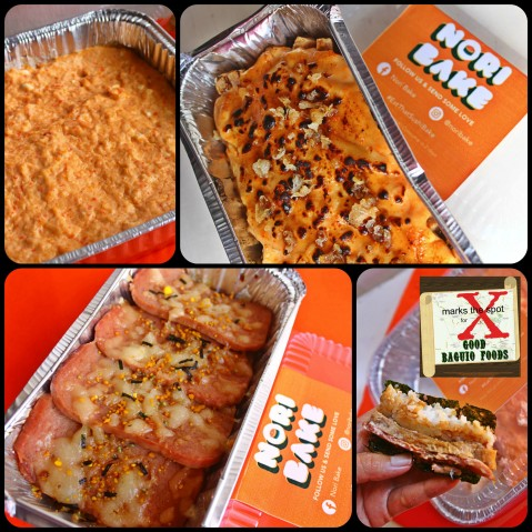 Baguio Nori Bake 2020 Classic kani bake, salmon kani aburi, cheesy musubi bake