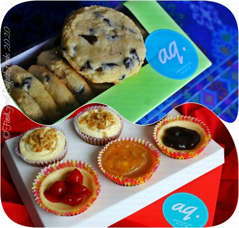 Baguio Baked Creations by Ash 2020 Choco chip cookies, carrot walnut cupcakes, and cheesecake cupcakes