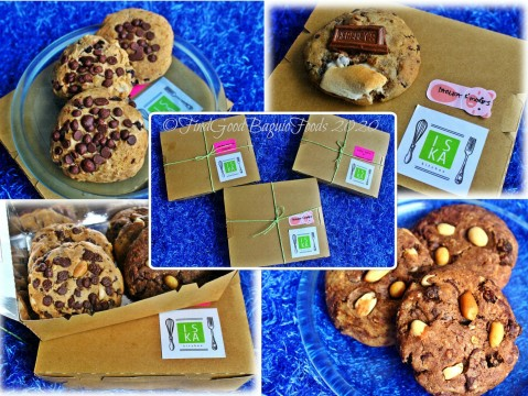 Baguio Iska Kitchen 2020 Milky banana cookies, Tablea s'mores cookies, nutty oats cookies, and brownie cookies
