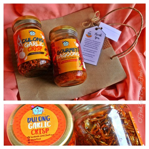 Baguio L'Shef North 2020 Gourmet products: Dulong garlic crisp and gourmet bagoong