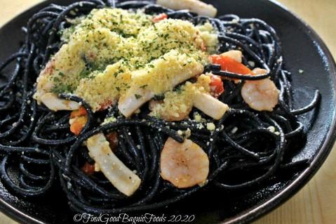 Baguio Blak 'n' Wyte 2020 black pasta