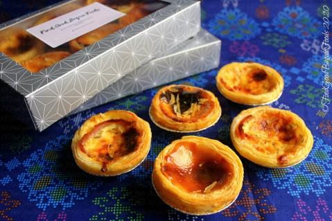 Baguio Luscious Tarts 2020 Portuguese egg tarts