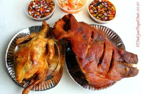 La Trinidad metro Baguio Gani and Ringo's Crispy Pata atbp. 2020 crispy chicken and crispy ulo